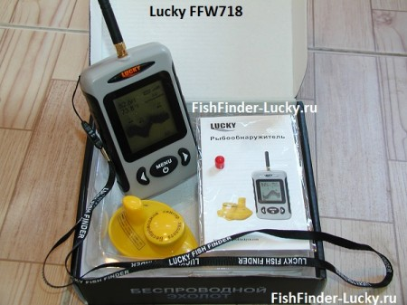 эхолот лаки ffw718 описание