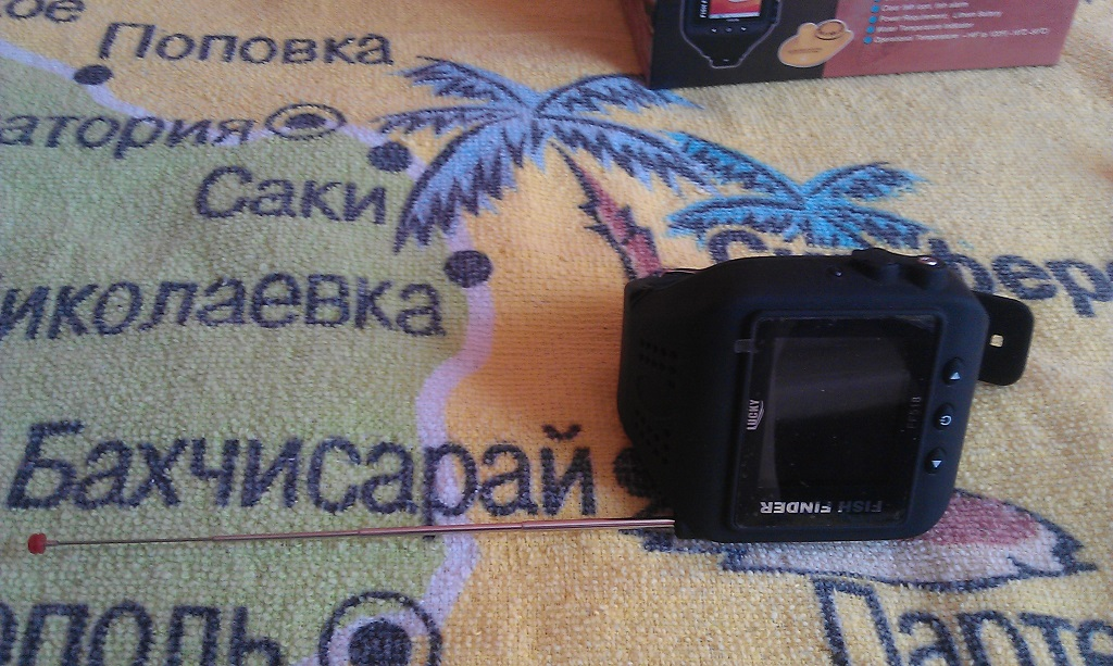 Эхолот часы lucky FF518 watch fishfinder